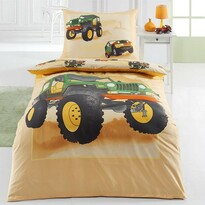Matějovský Bavlnené obliečky Jeep, 140 x 200 cm, 70 x 90 cm