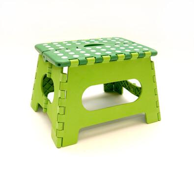 Skládací stolička zelená