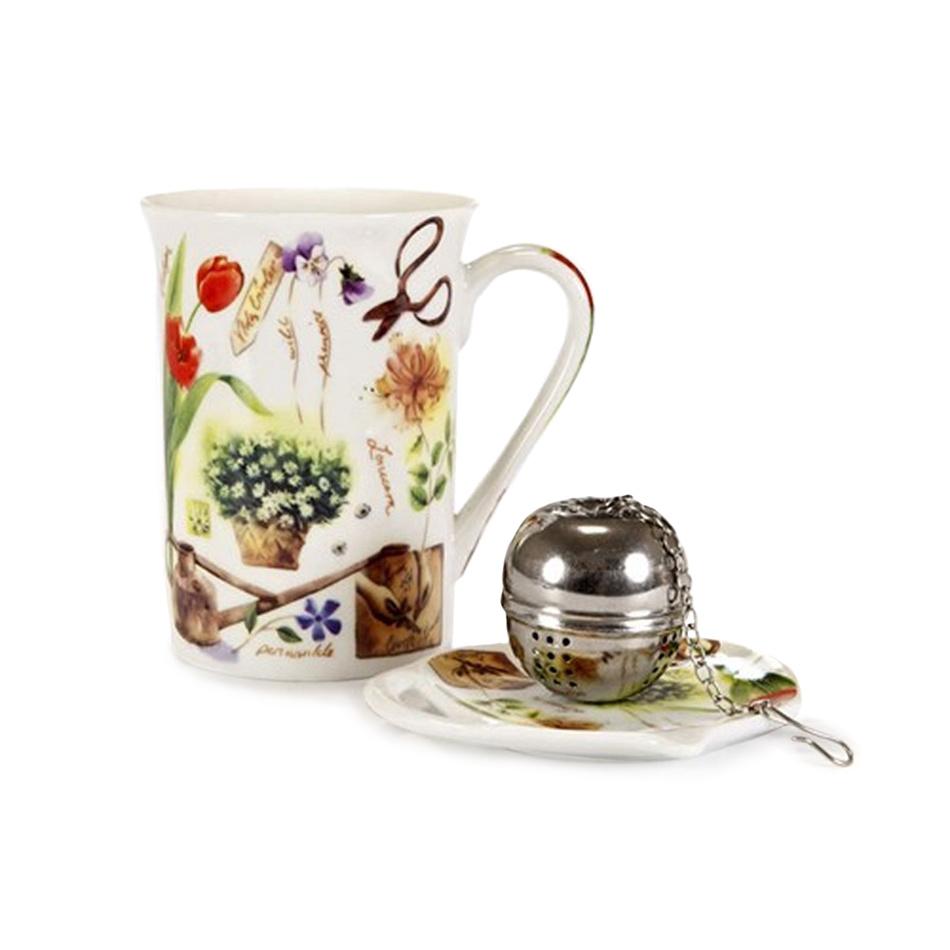 Banquet Garden 3dielna čajová súprava