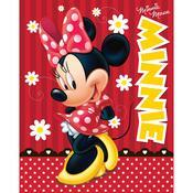 Dětská deka Minnie red, 120 x 150 cm