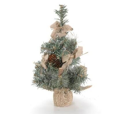 Malý vánoční stromeček 30 cm, zelená, 30 cm