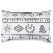 4Home Poszewka na poduszkę Christmas Time szara