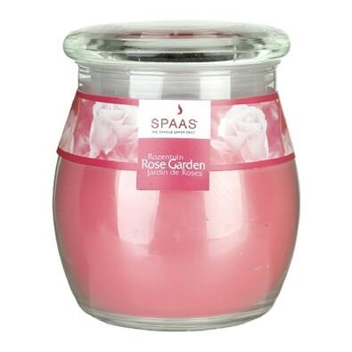 Spaas Rose garden vonná svíčka ve skle