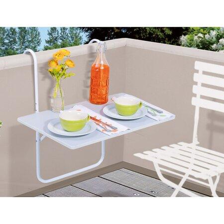 Kovový stolek na balkón