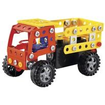 Teherutó gyerek építő játék, 12 cm