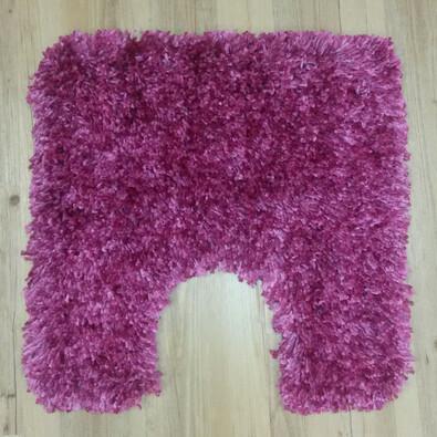 Kleine Wolke koupelnová WC předložka Fantasy fialová, 55 x 55 cm