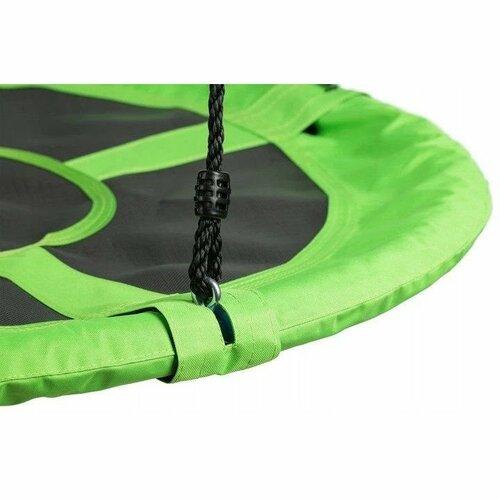 Ecotoys Dětský houpací kruh Čapí hnízdo zelená, pr. 110 cm