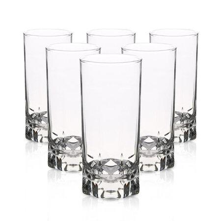 Sada vysokých pohárov Ibiza, 300 ml, 6 ks