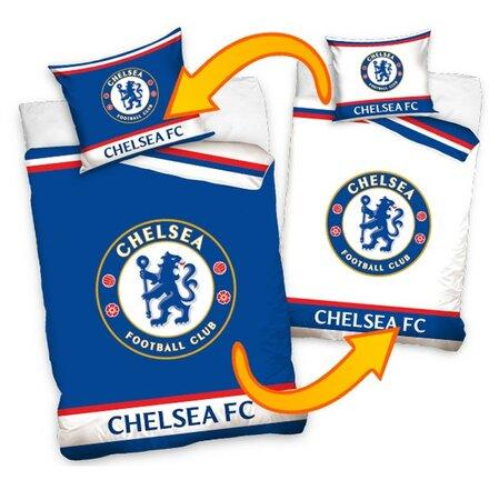 FC Chelsea Double pamut ágyneműhuzat, 140 x 200 cm, 70 x 80 cm