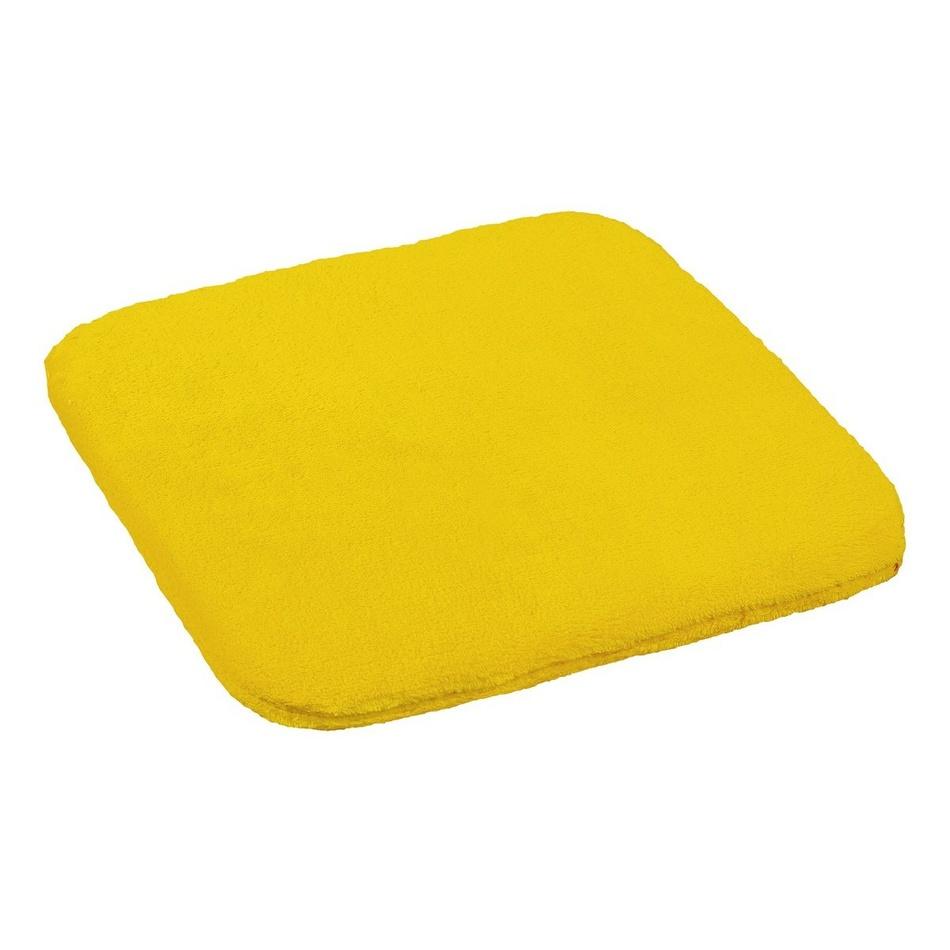 Bellatex sedák Korall micro, žltá, 40 x 40 cm