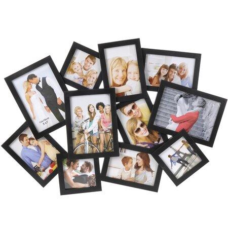 Fotorámček People na 11 fotografií, čierna