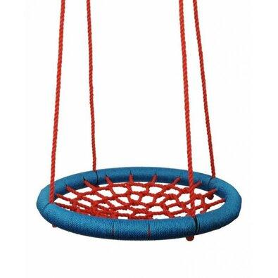 Woody Houpací kruh pr. 100 cm, červeno-modrá