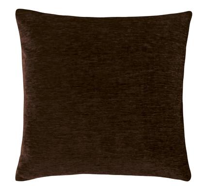 Polštářek Žaneta, tmavě hnědá, 44 x 44 cm