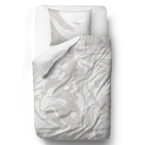 Butter Kings Saténové povlečení Gray-white dream, 140 x 200 cm, 70 x 90 cm