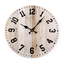 Ceas de perete Woody, 34 cm