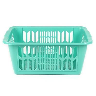 Heidrun Koš na čisté prádlo, tyrkysová
