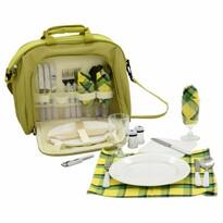 Cattara Pikniková taška pro 4 osoby, zelená