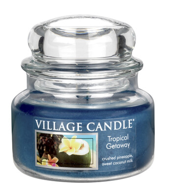 Village Candle Vonná svíčka Víkend v tropech - Tropical Getaway, 269 g