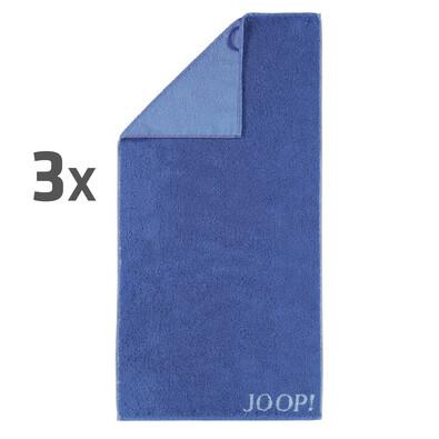 JOOP! ručníky Plaza Doubleface, 50 x 100 cm, sada 3 ks
