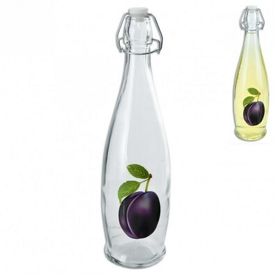 CLIP sklenená fľaša na ocot / olej 1 l