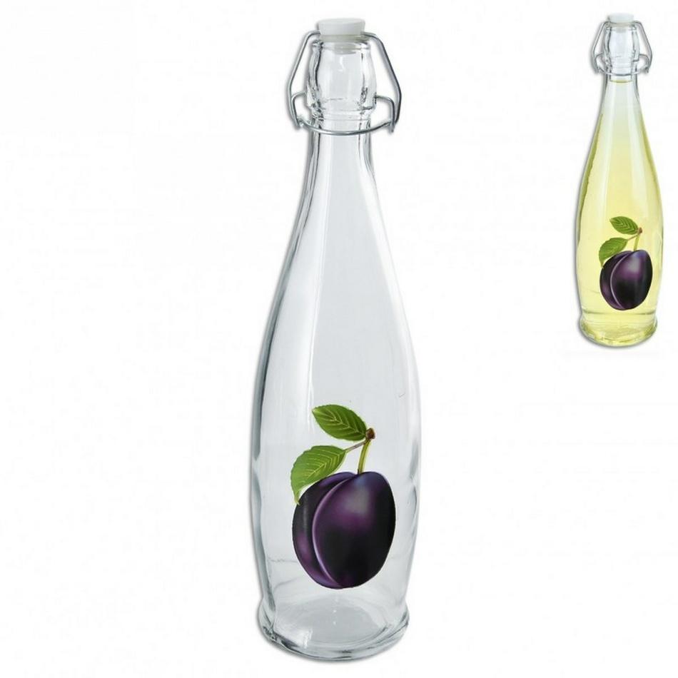 CLIP sklenená fľaša na ocot / olej 1 l, orion 124691