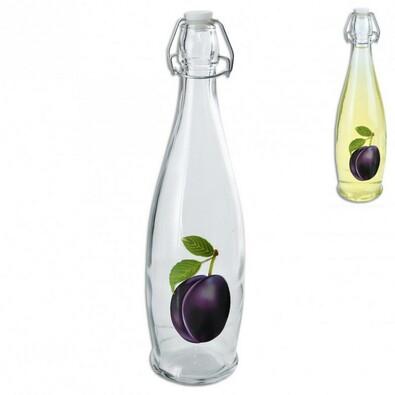 CLIP skleněná láhev na ocet/olej 1 l