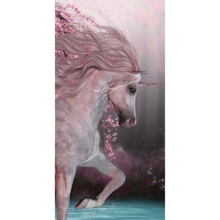 Prosop Jerry Fabrics Unicorn roses, 70 x 140 cm