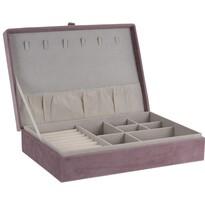 Cutie bijuterii Koopman Secret cabinet, roz