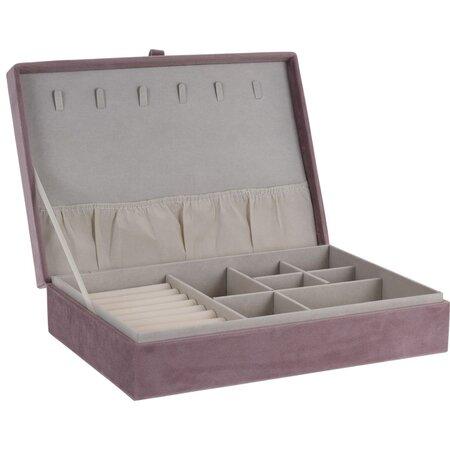 Koopman Secret cabinet ékszertartó doboz, rózsaszín