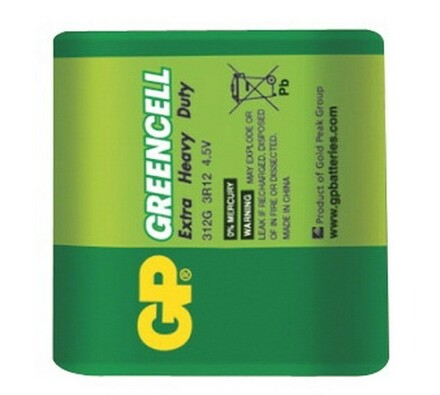 GP Greencell 312G 4.5V alkalická baterie