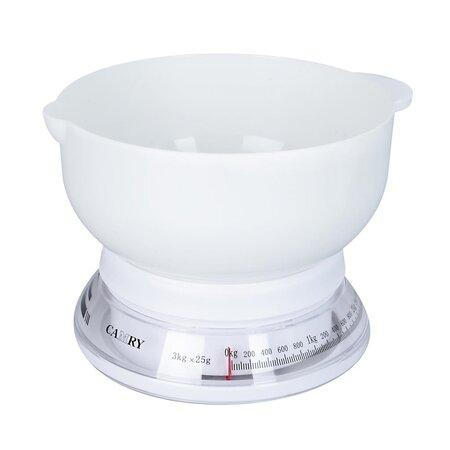 Orion Kuchynská váha mechanická Round, 3 kg