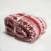 Beránková deka červená, 150 x 200 cm