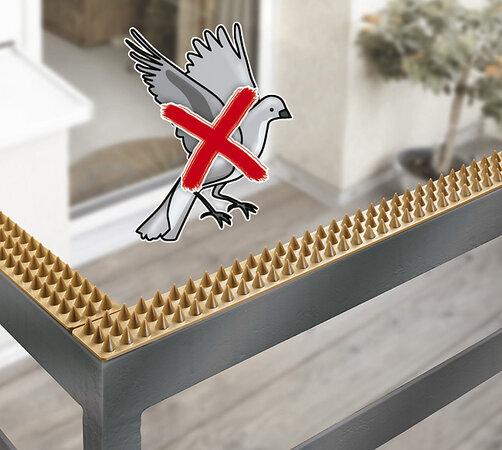 Wenko Obrana proti holubům trny