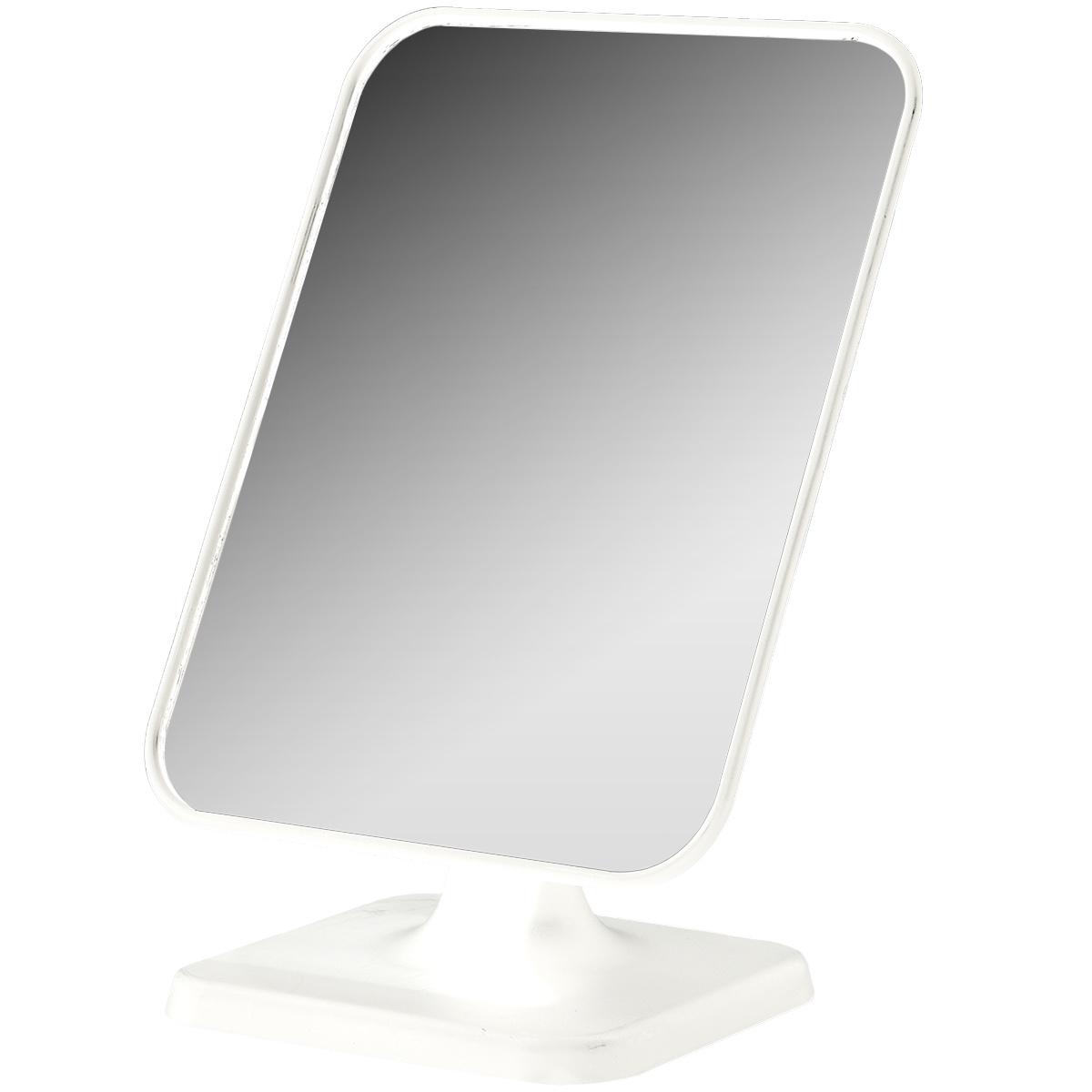 Kosmetické zrcadlo Compact Mirror bílá, 21,5 x 15 cm