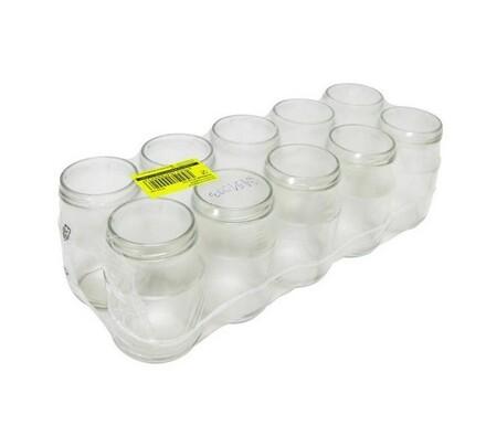 Befőttes üveg 377 ml, 10 db