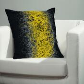 Povlak na polštářek Seoul žlutá, 50 x 50 cm