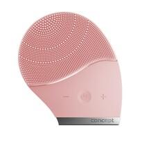 Perie de curățare ionică Concept SK9002 Sonivibe, pentru față, champagne pink