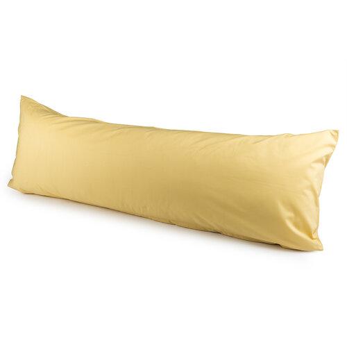 4Home Povlak na Relaxační polštář Náhradní manžel žlutá, 55 x 180 cm