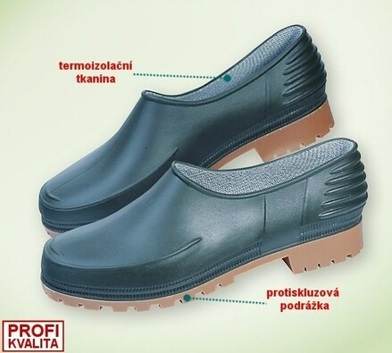 Zahradní obuv vel. 37