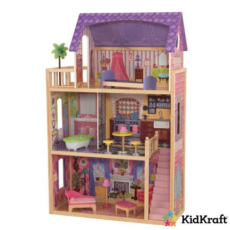KidKraft Domček pre bábiky Kayla s príslušenstvom, 114 x 73 x 33,5 cm