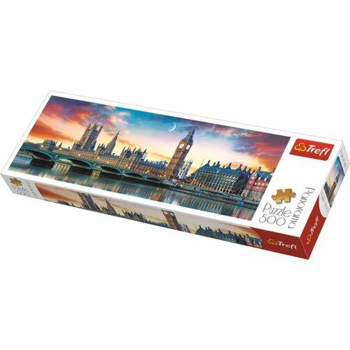 Trefl Big Ben a Westminsterský palác 500 dielov puzzle
