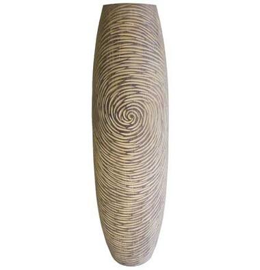 Váza v přírodních barvách 58 cm