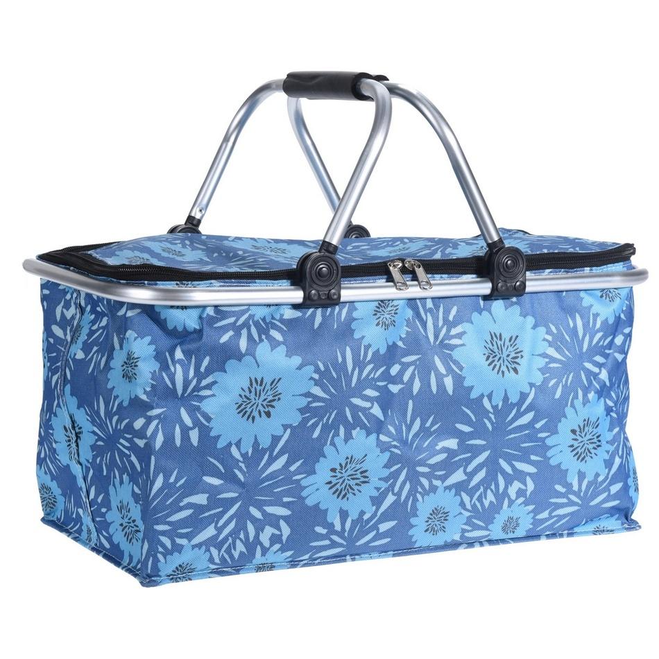 Koopman Nákupní košík Cestino, modrá