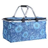 Koszyk zakupowy Cestino, niebieski