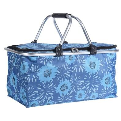 Nákupní košík Cestino, modrá