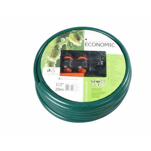 Hadica EKONOMIK 20m 1/2 zelená,