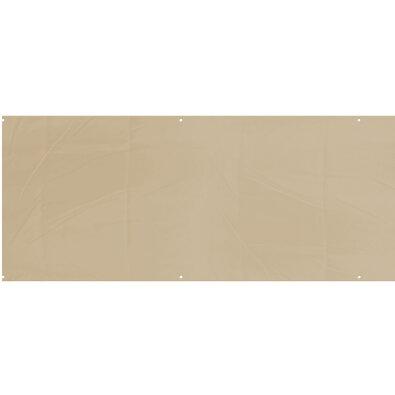 Balkónová zástěna béžová, 75 x 445 cm