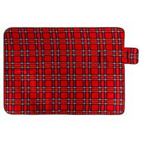 Pătură de picnic, roșu, 150 x 200 cm
