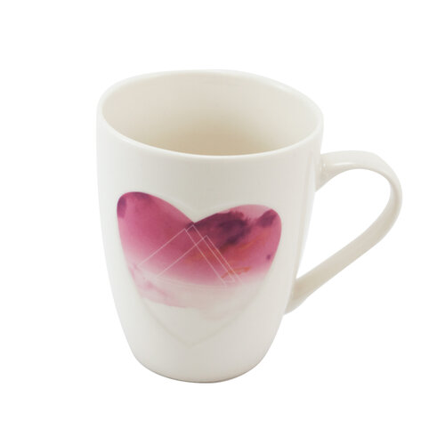 Porcelánový hrnek Srdce 340 ml