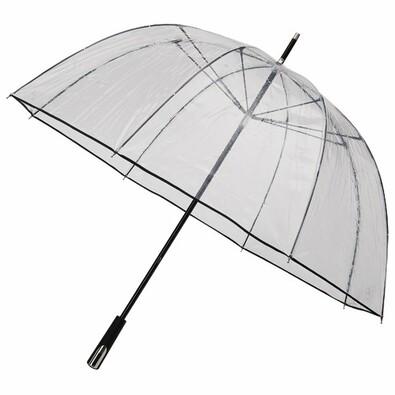 Průhledný deštník Princess černá
